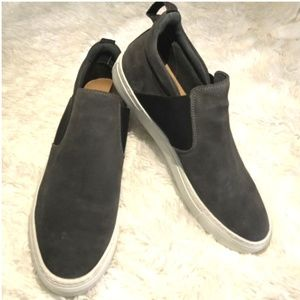Suede Low Cut Sneakers